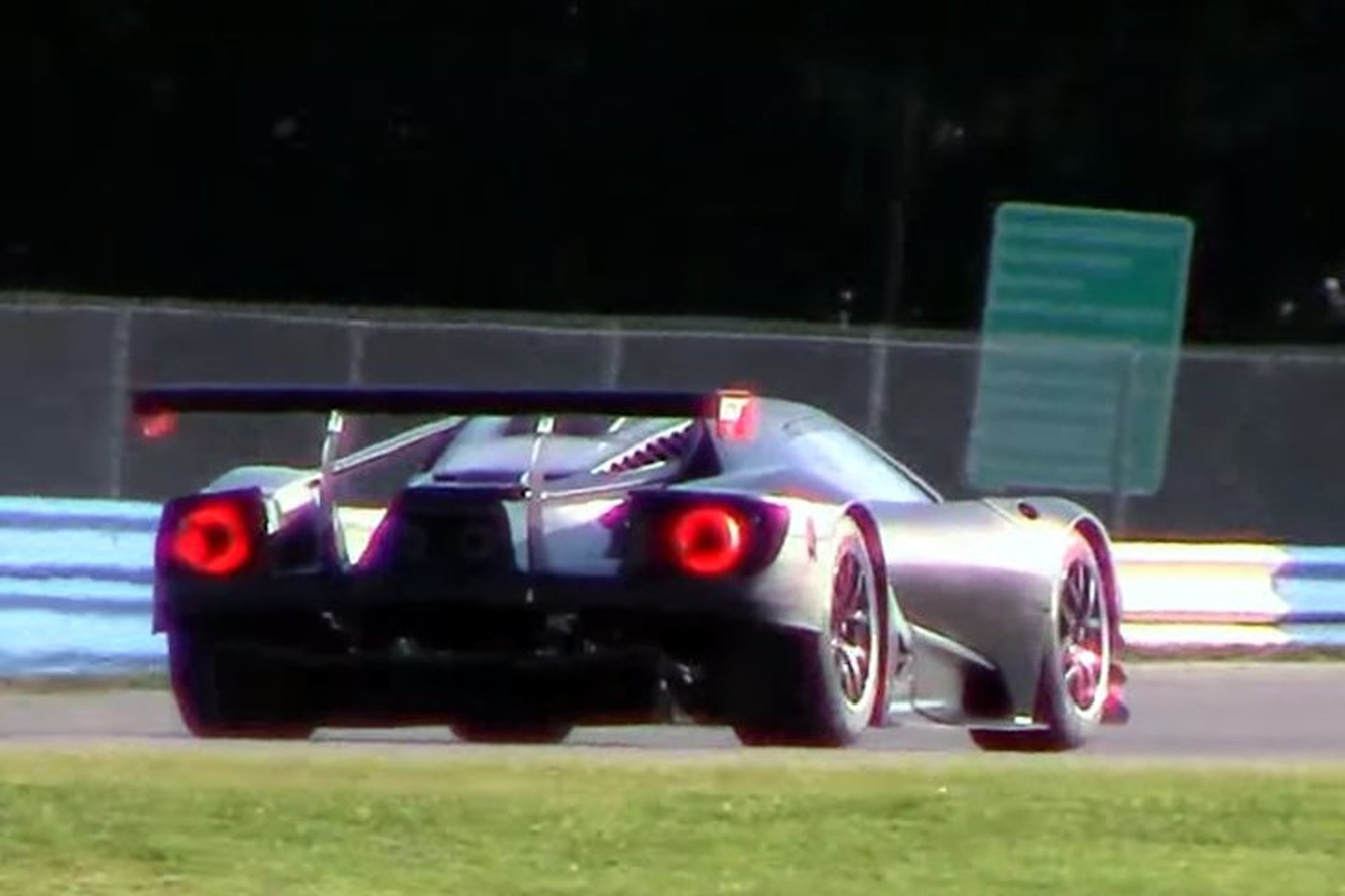 The Ford GT Racecar V6 Makes an Otherworldly Sound