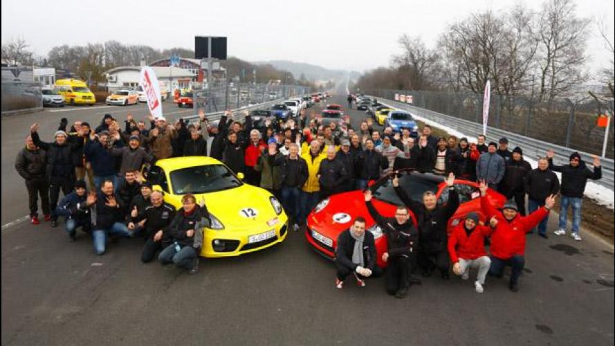 Porsche e Nurburgring: un matrimonio senza fine