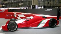 Fioravanti LF1 racecar concept at Geneva 2009