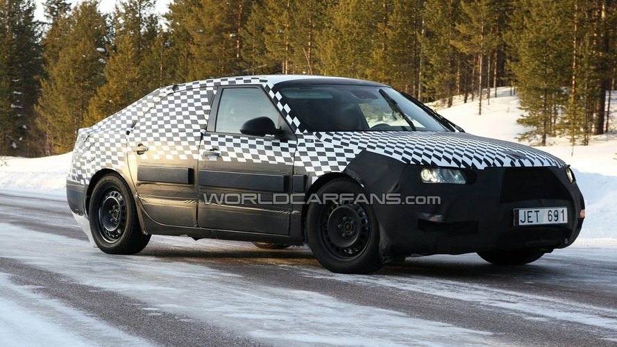 Next-Gen Saab 9-5 Latest Spy Shots