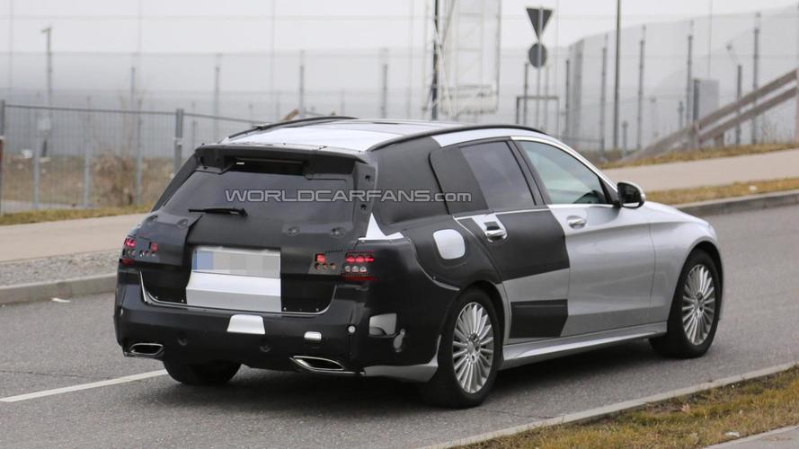 Mercedes-Benz C-Class Estate drops some camo in latest spy pics