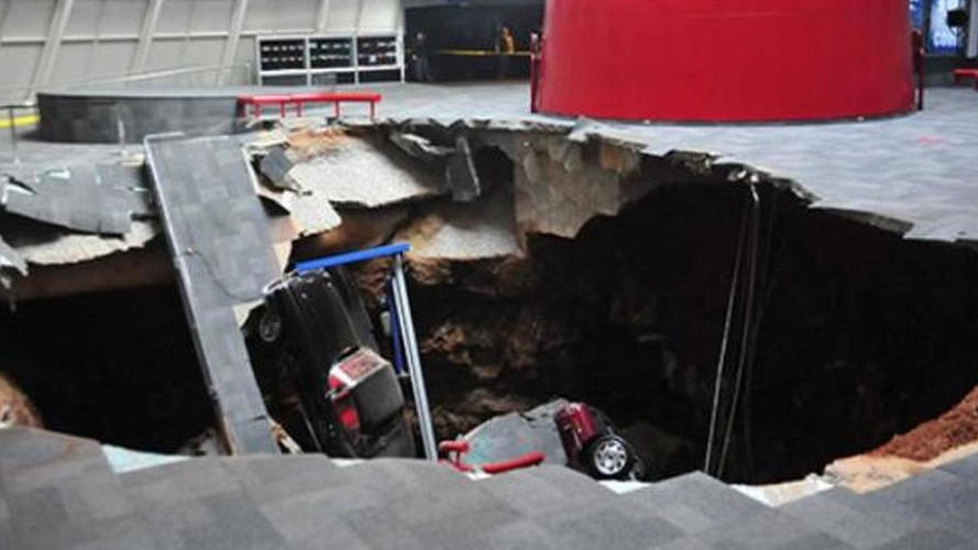 Sinkhole-damaged Corvettes to be displayed before restoration