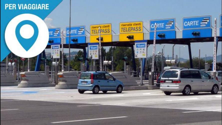 Pedaggi autostrade, come pagare senza fare lunghe code