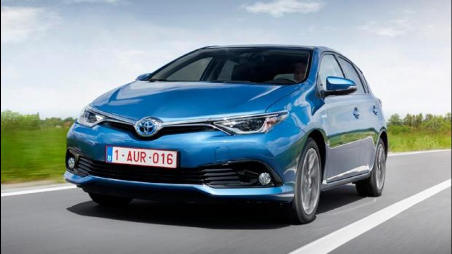 Toyota Auris, volto nuovo e motori più piccoli