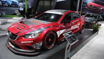 Mazda6 Skyactiv-D racecar live in Detroit 15.01.2013