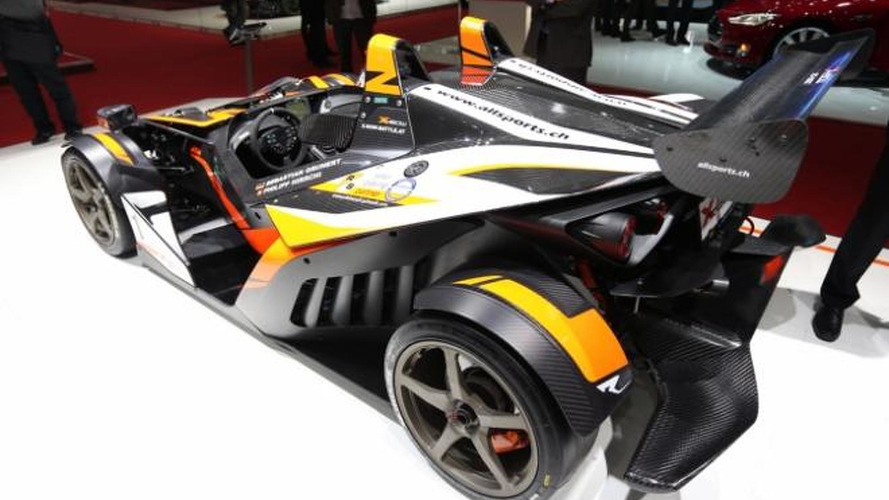 2013 KTM X-BOW GT races into Geneva