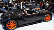 Bugatti Veyron Grand Sport Vitesse World Record Car Edition at 2013 Auto Shanghai