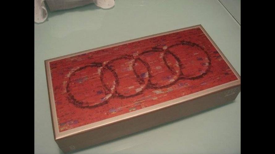Audi trasforma le sue auto in... dolci