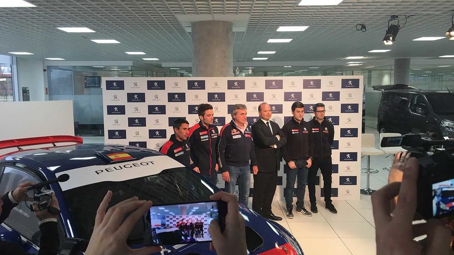 Sainz lleva a Pepe López y Cohete Suárez al Europeo de Rallyes