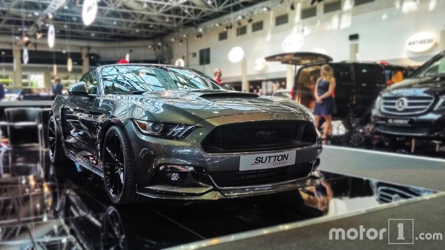 La Sutton CS800 Mustang traumatise Monaco