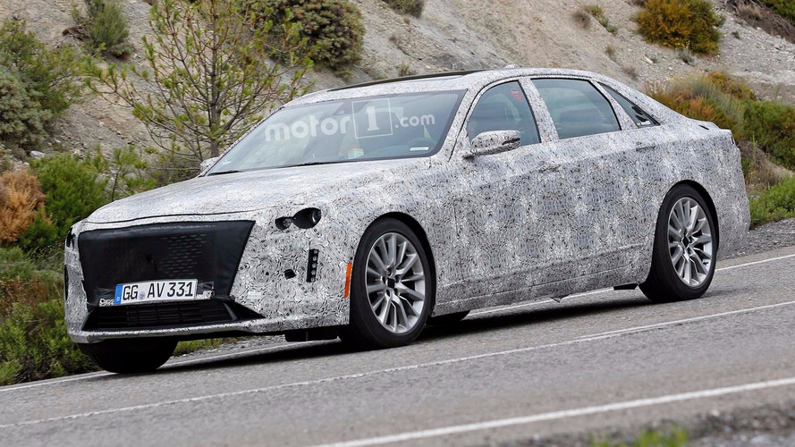 Cadillac CT6 Spy Photos Suggest Styling Cues From Escala Concept