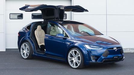 La Tesla Model X revue par FAB Design