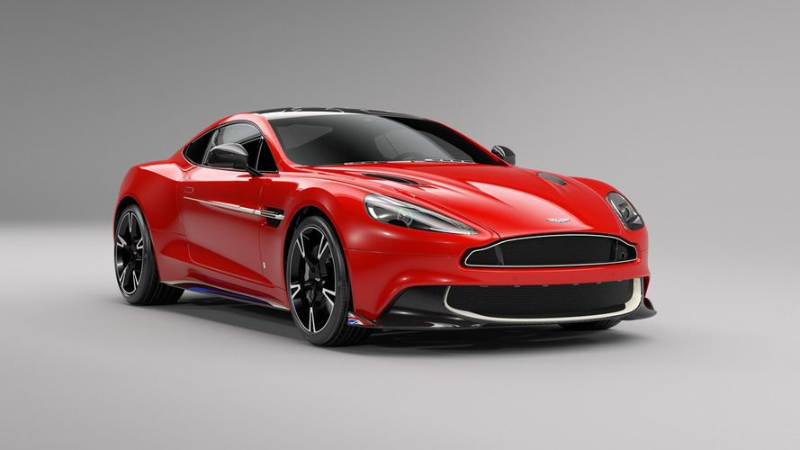Aston Martin Vanquish S Red Arrows - Aux couleurs de la RAF