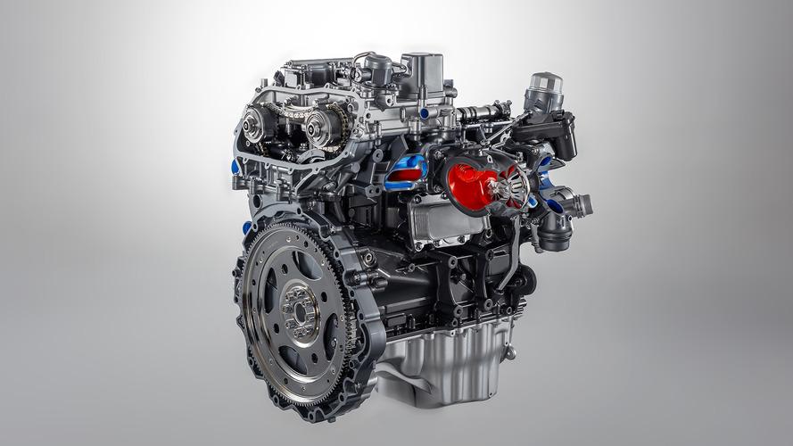 2018 Jaguar F-Type four-cylinder engine