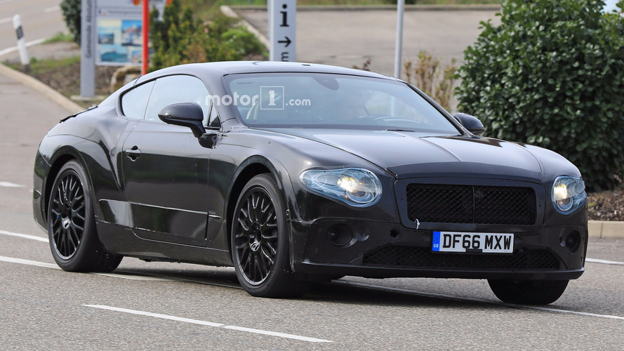 2018 Bentley Continental GT Teased In Spy Shots