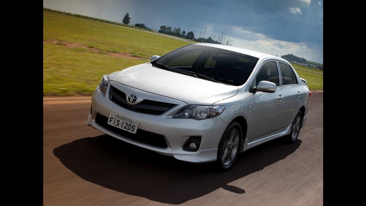 Veja a lista dos 50 carros mais vendidos no Brasil em abril de 2012