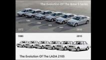 Lada 2107 terá produção encerrada após longa jornada