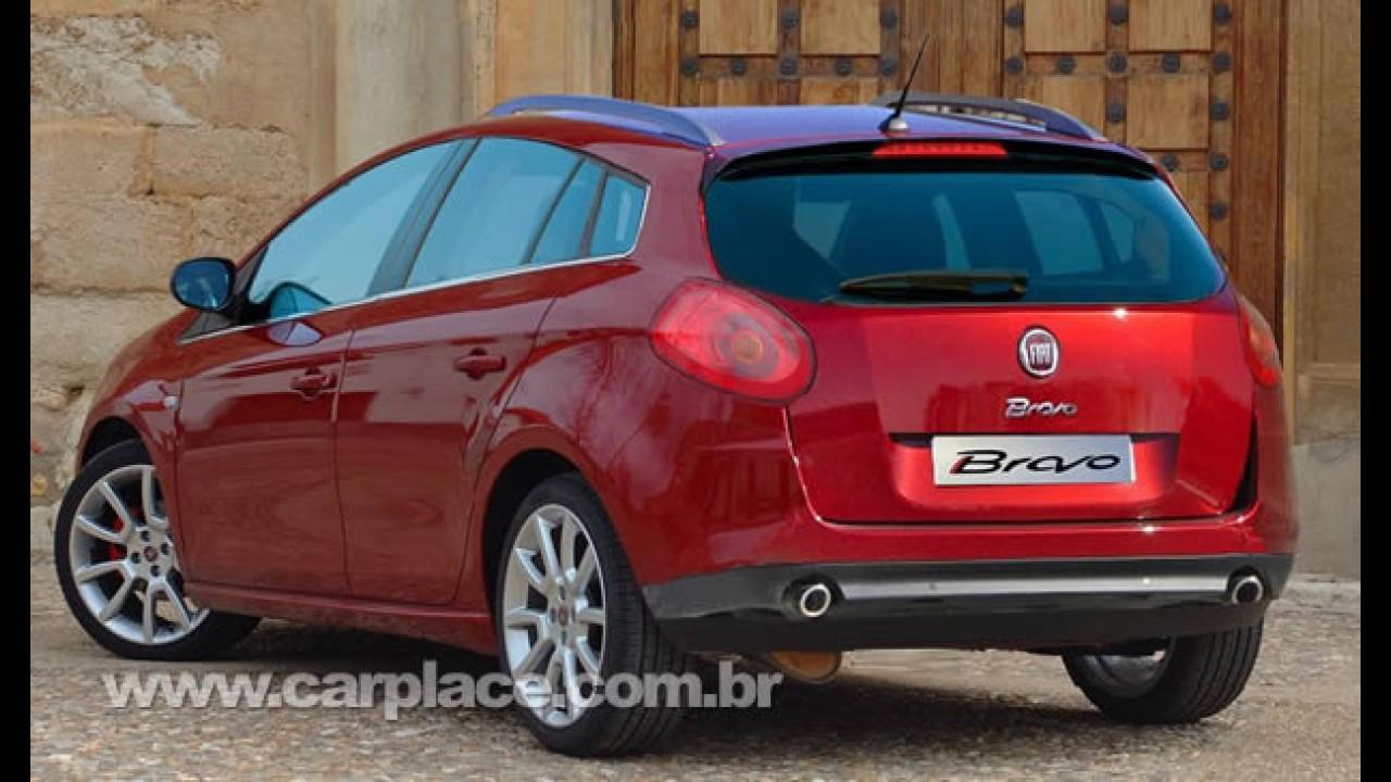 Fiat Bravo pode receber reestilização na Europa este ano - Brasil também pode ter versão Bravo Weekend