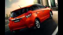 Toyota Yaris ganha visual exclusivo na Tailândia