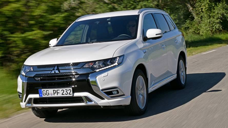 Mitsubishi Outlander PHEV gets 'tech facelift' for better range