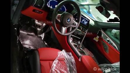 Flagra: BMW Série 8 mostra interior renovado e surpreende