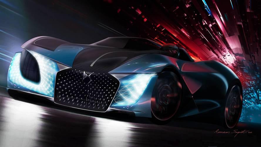 DS X E-Tense - La vision de la sportive de 2035 !