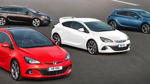 New-look Vauxhall Astra Range: GTC BiTurbo, Astra VXR, Astra Hatch, Astra Sports Tourer