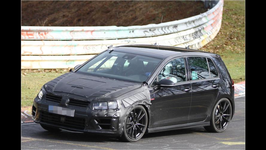 Erwischt: VW Golf VII R