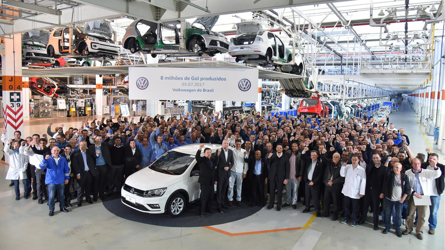 VW Gol bate recorde e chega a 8 milhões produzidos