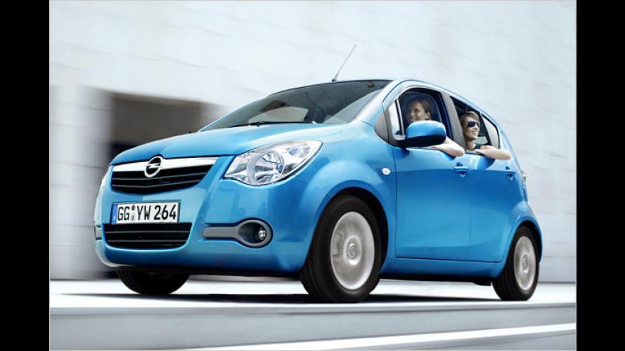 Opel Agila LPG ecoFlex: Ab Werk mit Autogasanlage