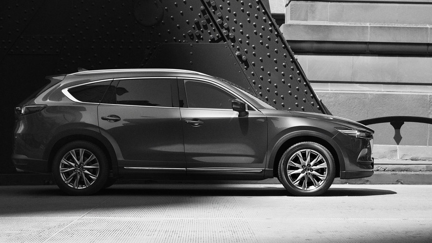 2018 Mazda CX-8 Three-Row SUV Partially Revealed In New Teaser