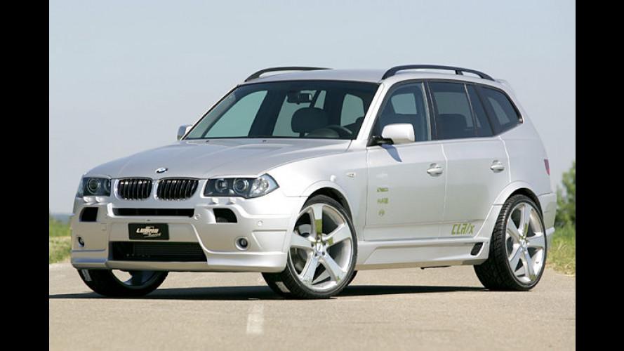 Starke Nummer von Lumma: BMW X3 mit 245 Diesel-Pferden