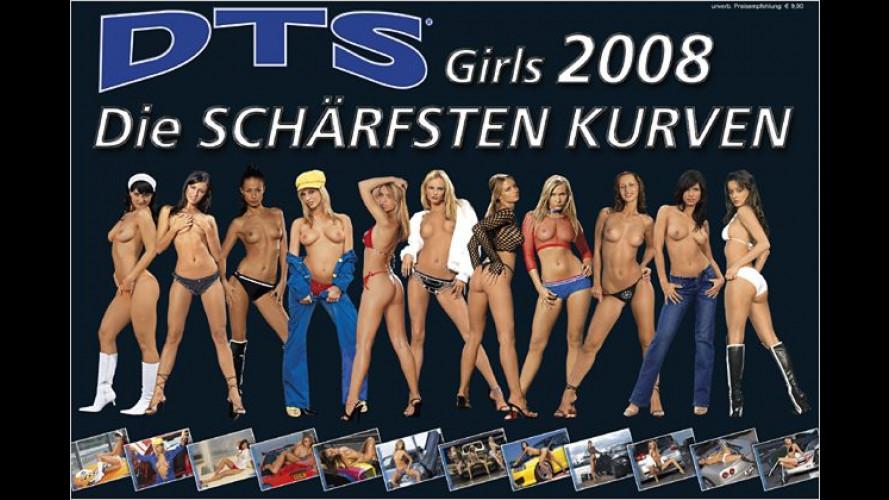 Bringt jeden zum Schwitzen: DTS-Girls-Kalender für 2008