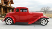 Ford Three-Window Hot Rod Coupe