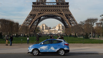 Hyundai Fuel-Cell Taxi