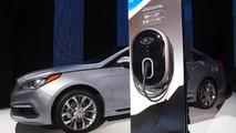 2016 Hyundai Sonata Plug-in Hybrid Electric Vehicle live at NAIAS