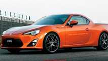 Toyota GT86 pick-up rendering / X Tomi