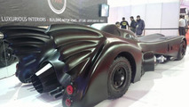 Batmobile replica based on Mercedes-Benz S-Class unveiled in India