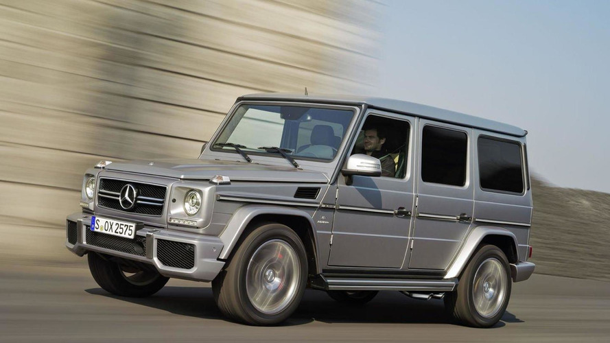 Mercedes G-Class getting facelifted in 2016, to be sold until 2027