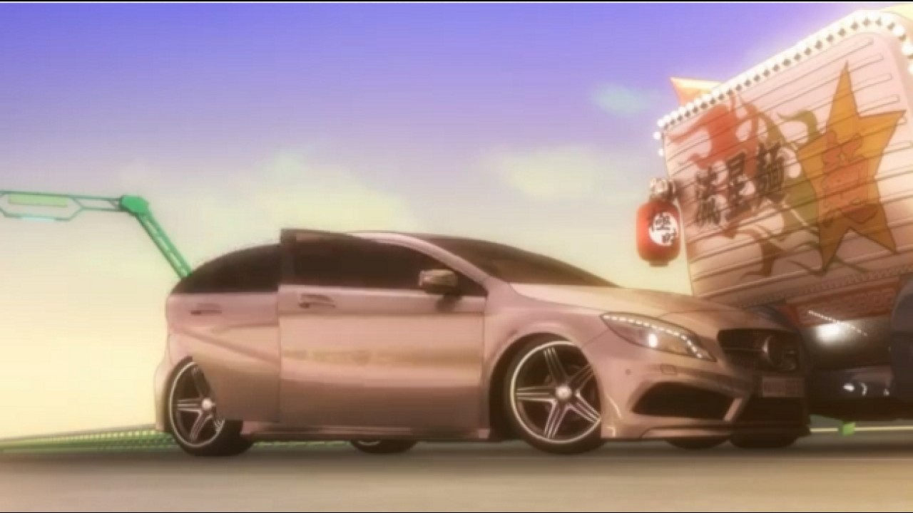VÍDEO: Mercedes Classe A vira desenho animado no Japão