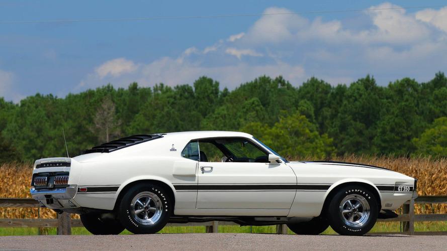 1970 Shelby Mustang GT350 açık arttırma yolunda