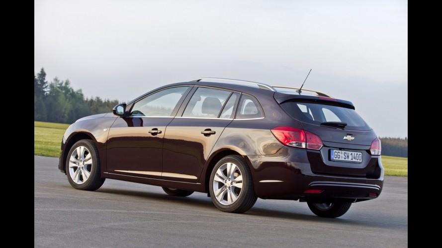 Chevrolet Cruze Station Wagon desembarca no Reino Unido custando o equivalente a R$ 49.889