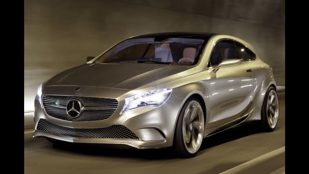 Novo Mercedes Classe A é flagrado às vésperas do lançamento