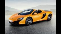 Salão de Genebra: McLaren 650S Spider - versão conversível marca presença