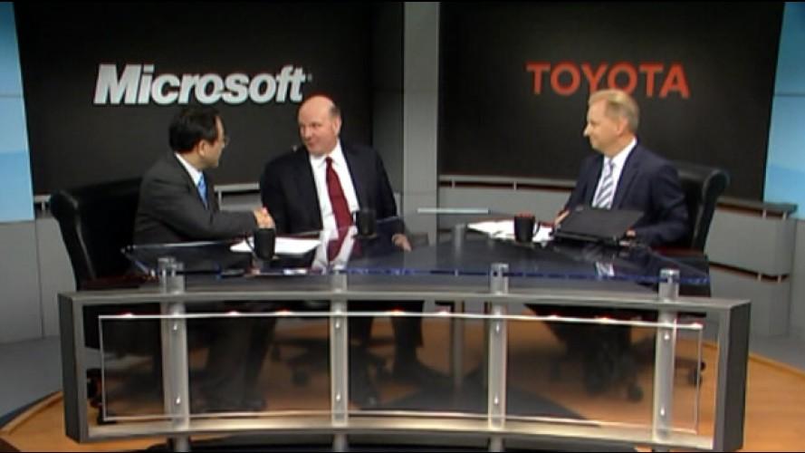 Toyota e Microsoft criam parceria para novas tecnologias de comunicação automotiva