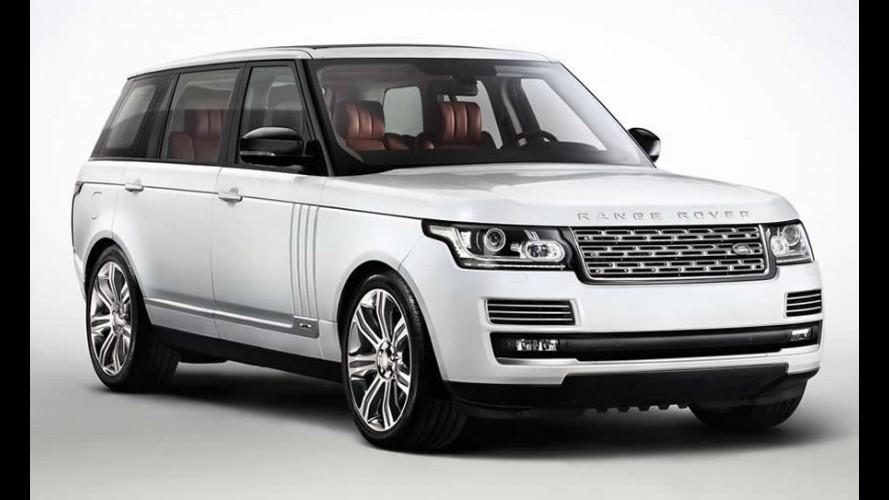 Land Rover revela o Range Rover L - versão alongada do Vogue