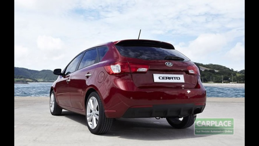 Kia inicia lançamento global do Novo Cerato Hatch