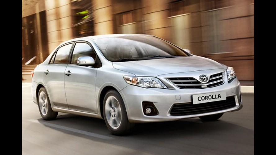 Toyota anuncia interrupções em fábricas no Brasil e Argentina devido ao terremoto no Japão