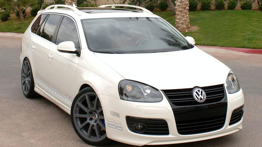 2009 Volkswagen Jetta TDI SportWagen at SEMA
