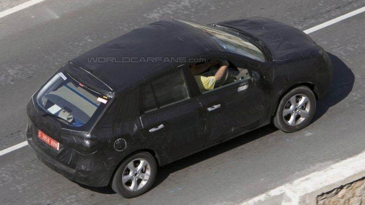 New Nissan Murano Spy Photos